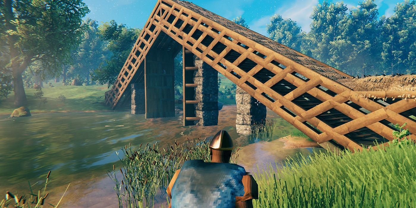 How Valheim Players Are Building On Water   Screen Rant