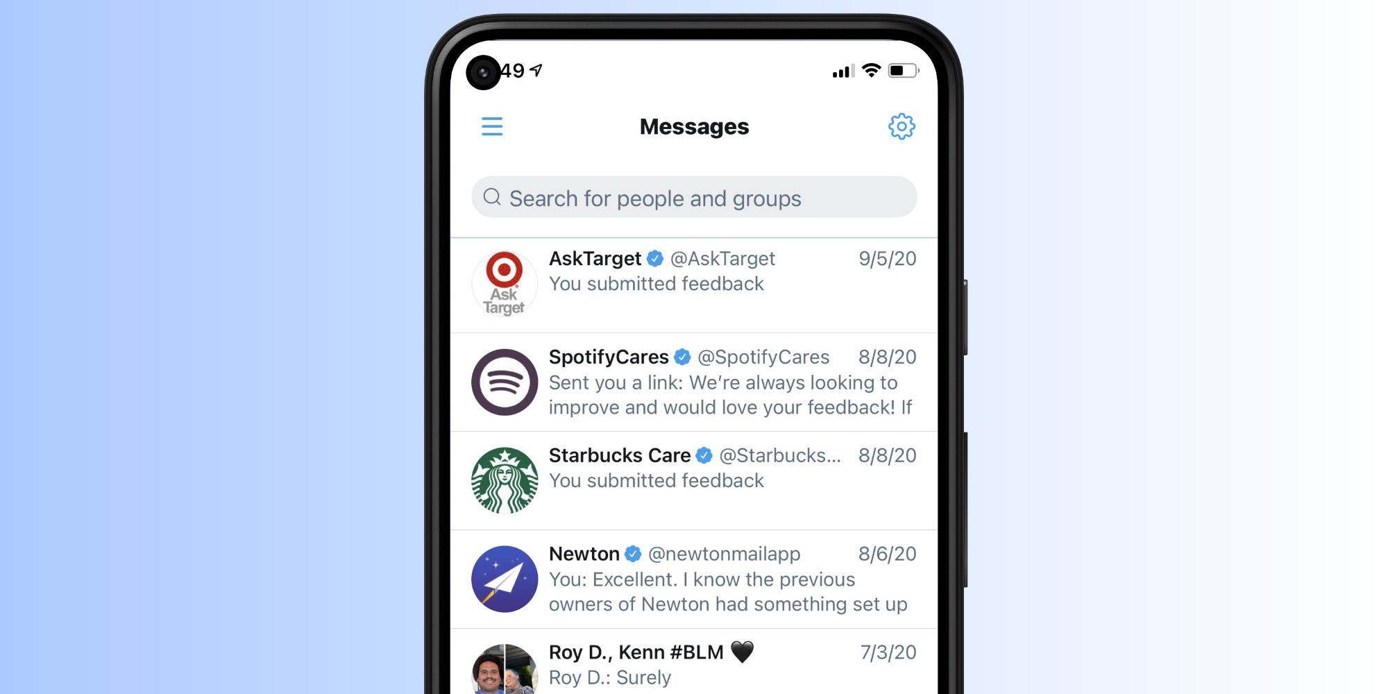 Almost Two Years After iOS, Twitter Adds DM Searching To Android