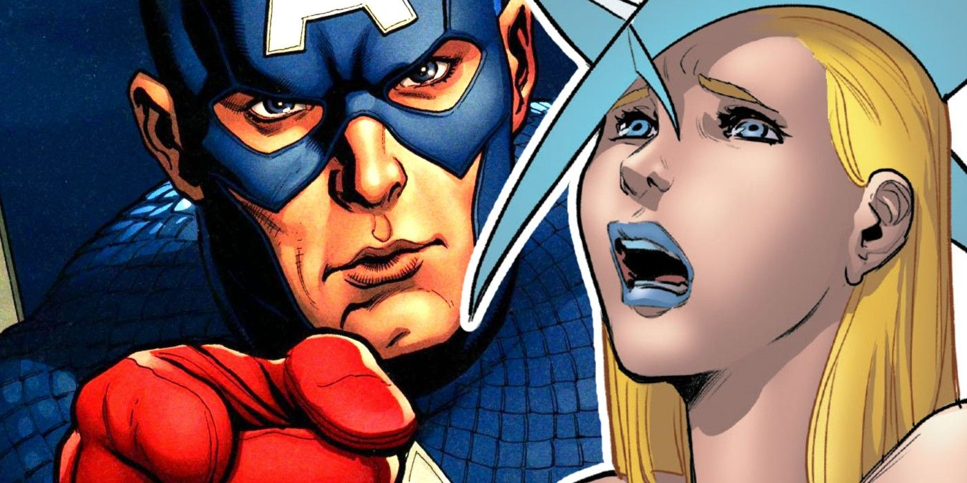 x-men characters, If Captain America fought against Emma Frost, he wouldn't be able to even leave a dent on her.