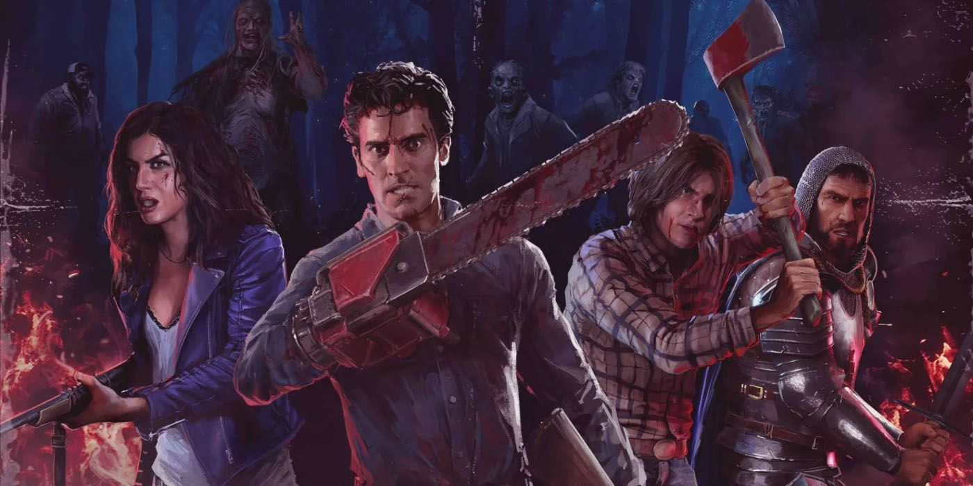 Evil Dead: The Game's New Gameplay Trailer Narrated By Bruce Campbell