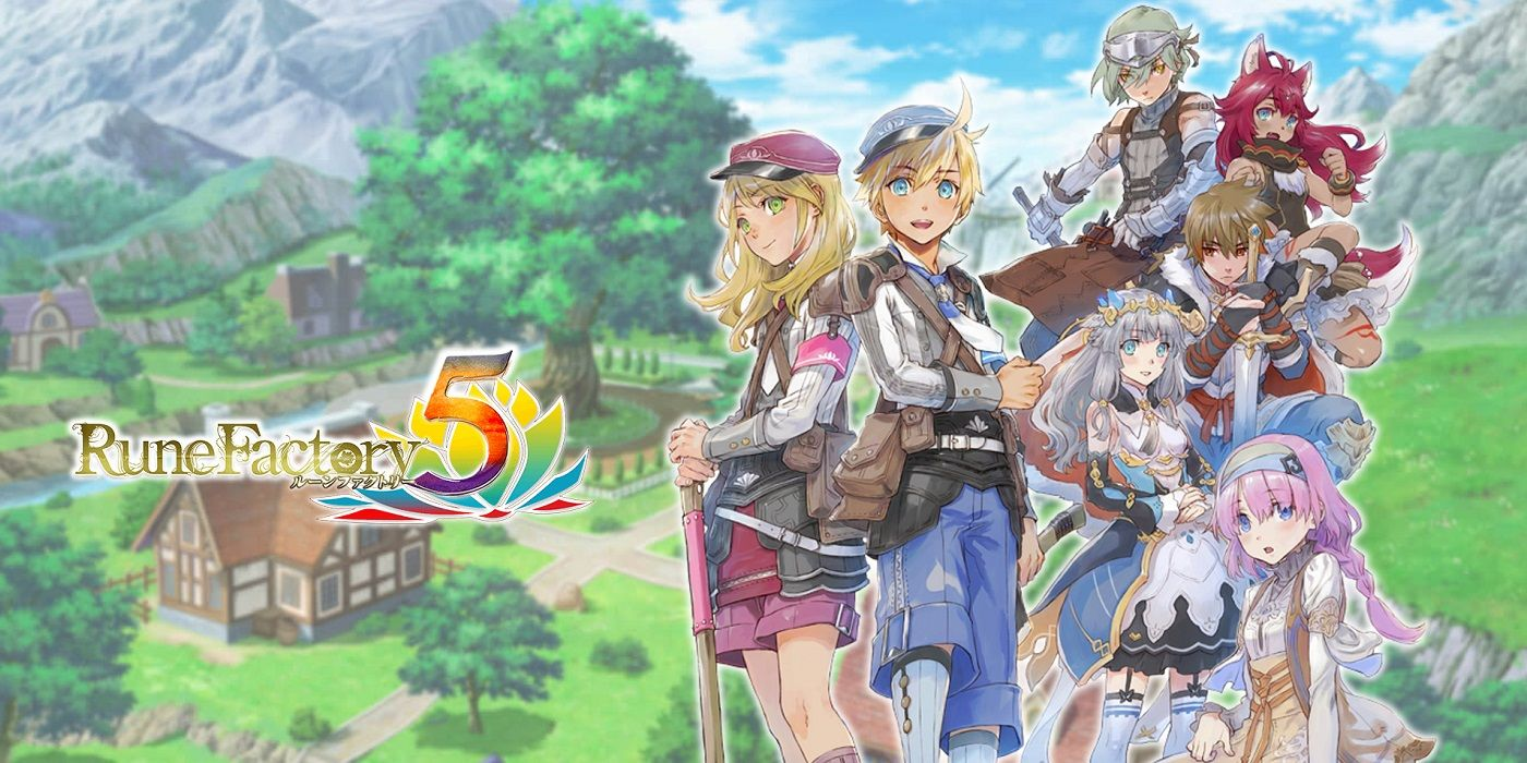 Rune Factory 5 Confirmed For English Release In 2022