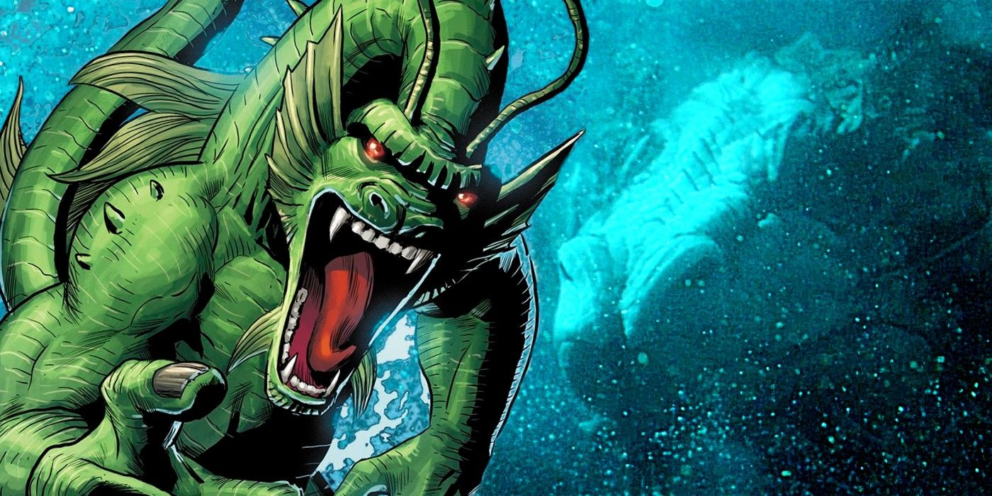 Who's The Dragon In Shang-Chi? Great Protector & Fin Fang Foom Explained