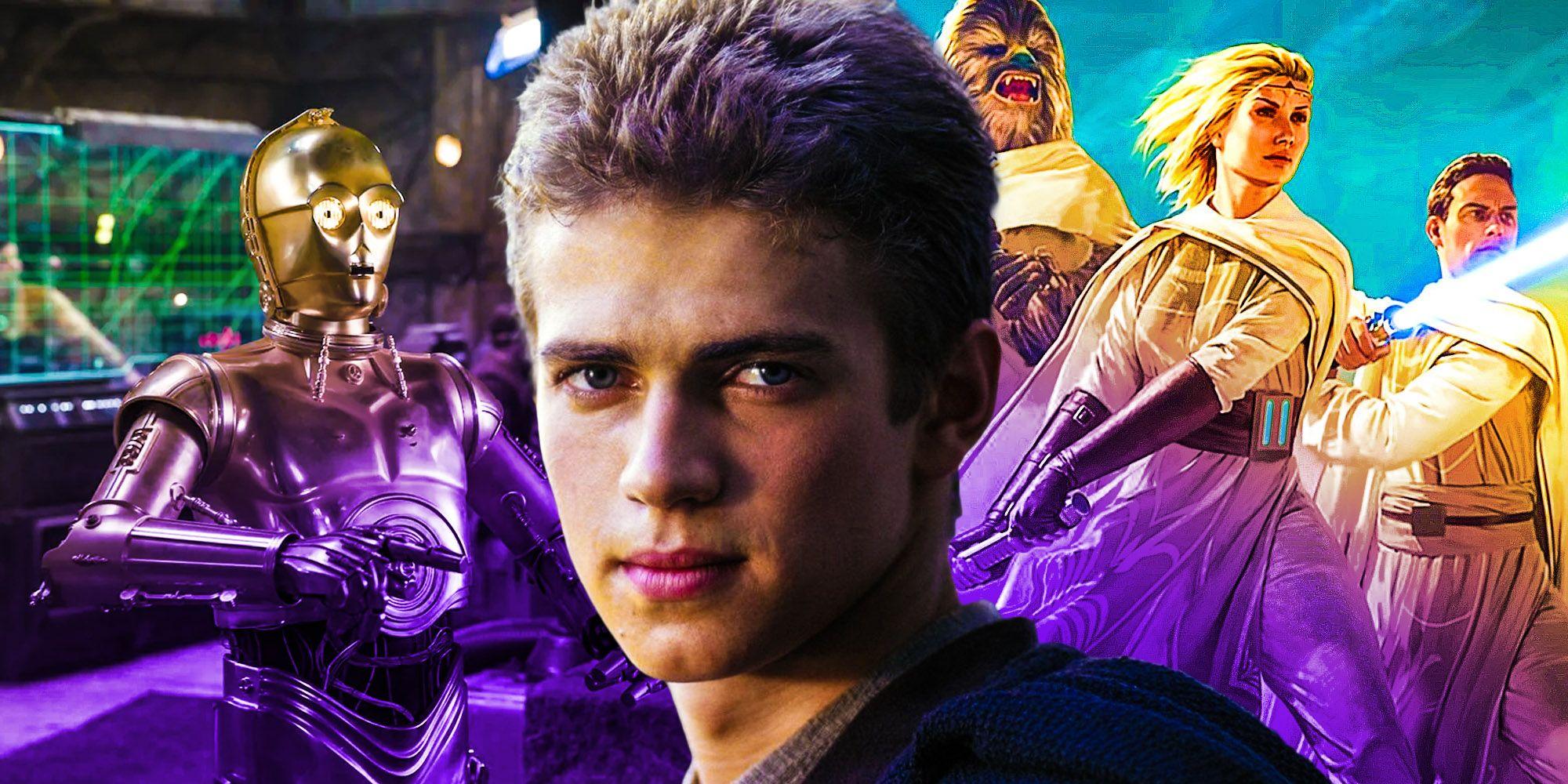 Star Wars Anakin Skywalker build C3PO new force power high republic