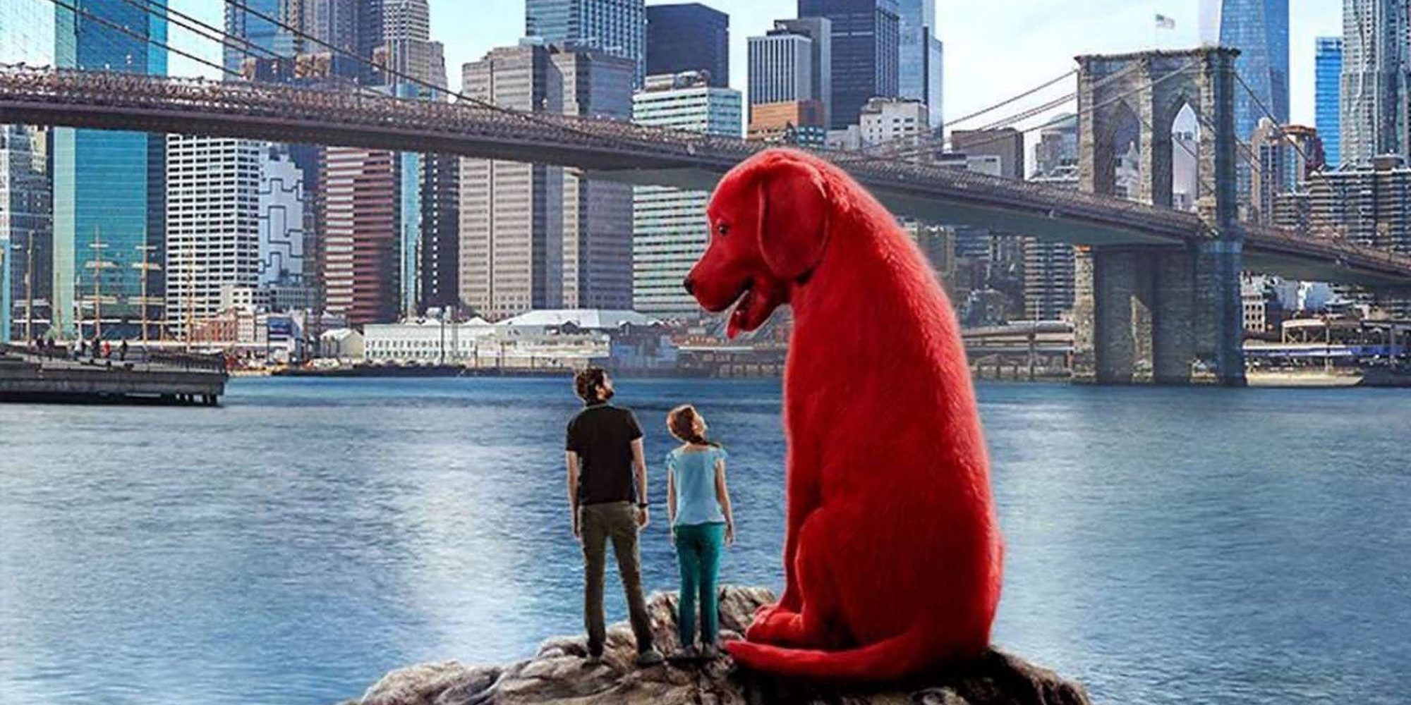 Clifford The Big Red Dog Replaces Godzilla In Hilarious Fan Video