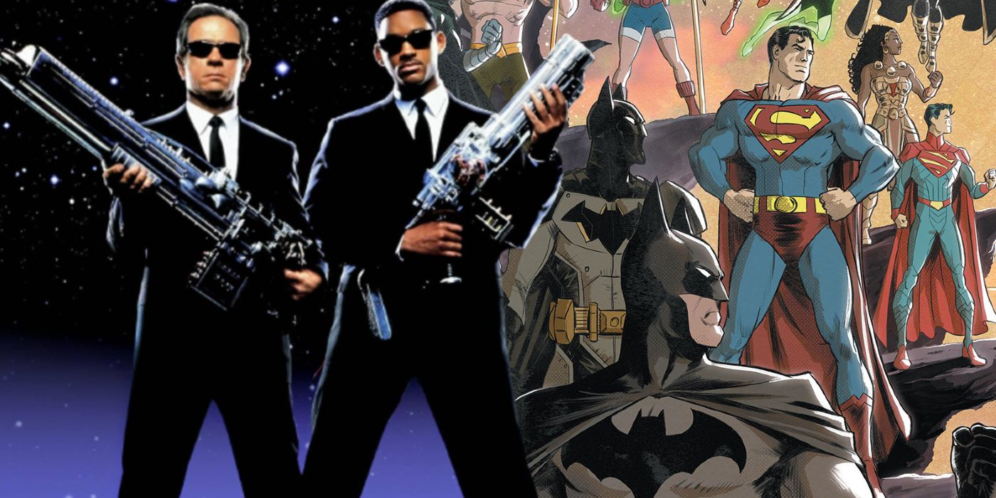 DC's Men in Black Just Expanded Their Jurisdiction To The Multiverse