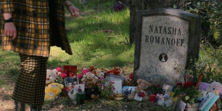 Black Widow: natasha romanoff grave
