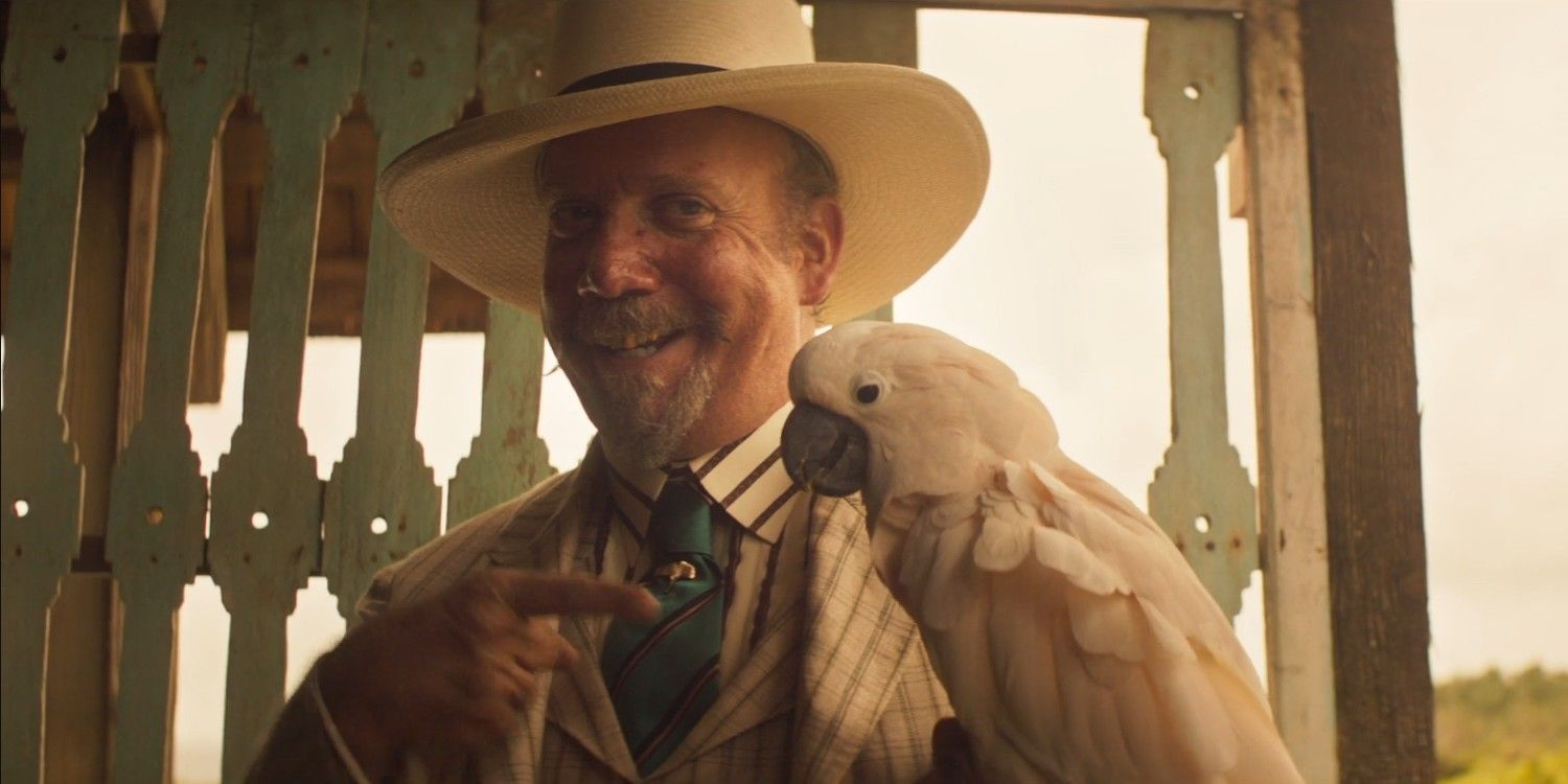 Jungle Cruise's Paul Giamatti Wrote A Lot Of His Own Dialogue