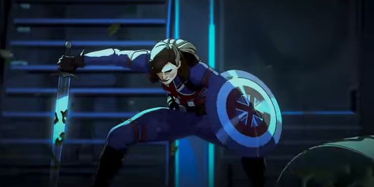 Peggy-Carter-as-Captain-Britain-in-What-