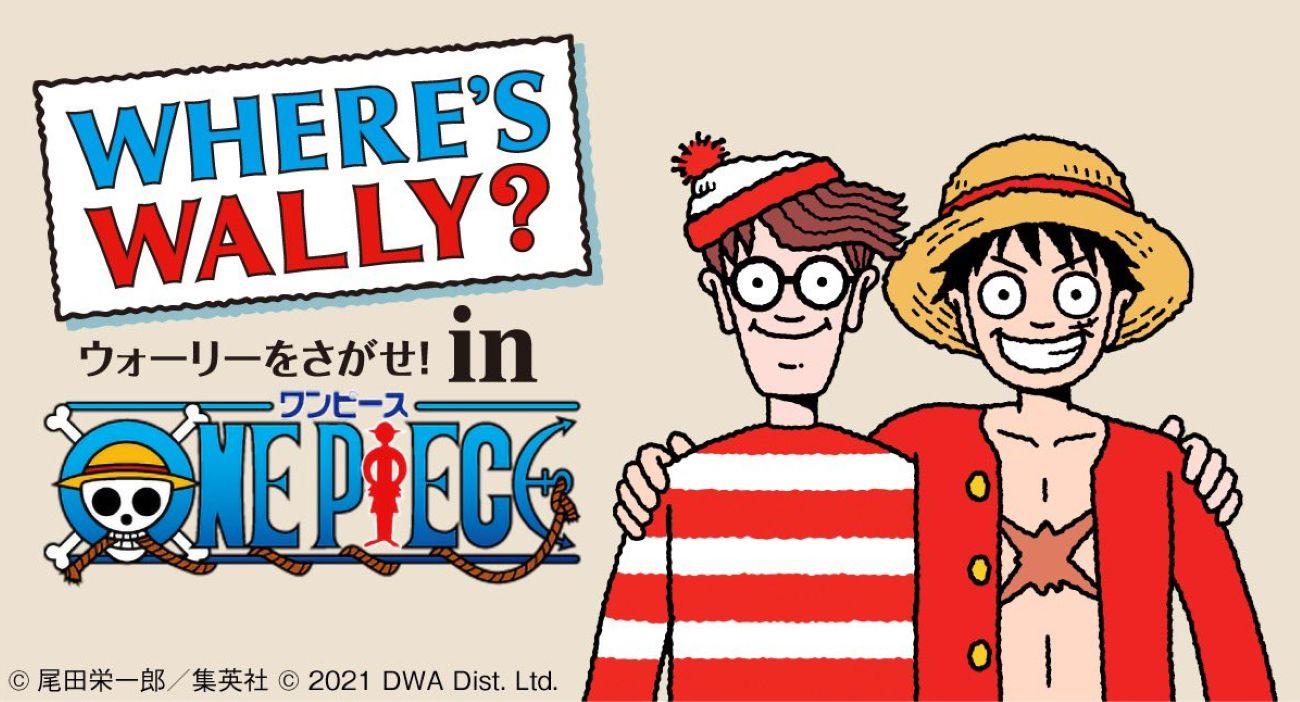 One Piece junta forças com Onde está Wally? Para Crossover de Aniversário 1