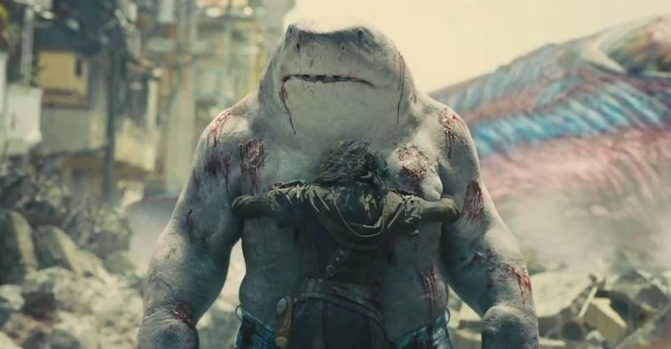 The Suicide Squad Cut An Emotional King Shark Montage