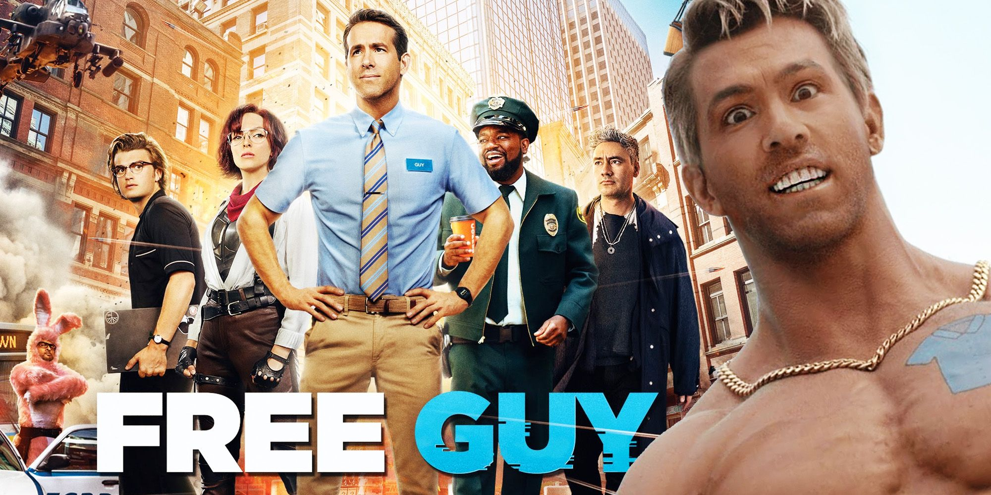 Free Guy Blu-ray Release Date & Special Features Revealed