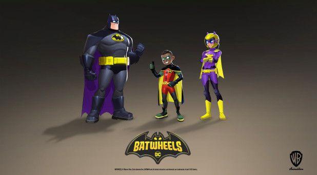 Batwheels 'Batman Robin e Batgirl revelados em imagens de acesso inicial 1