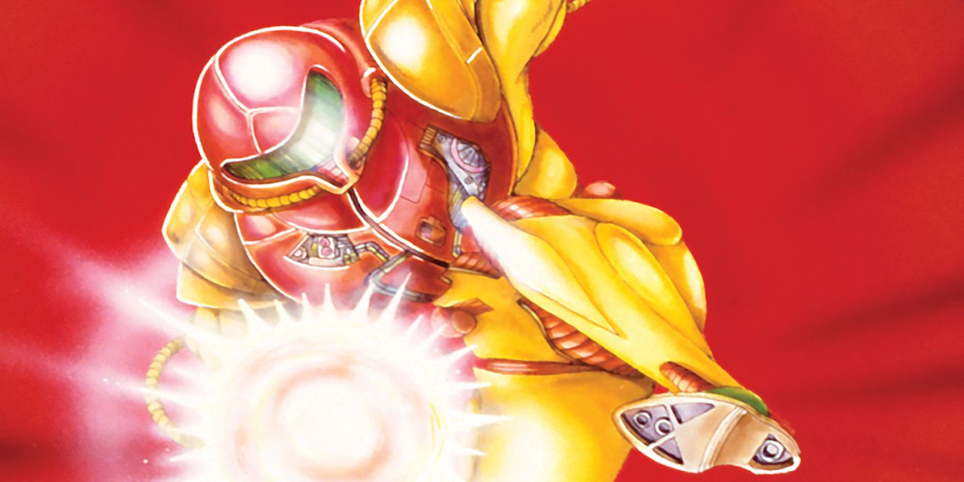 Metroid Artwork Showing The Evolution Of Samus Shared By Nintendo