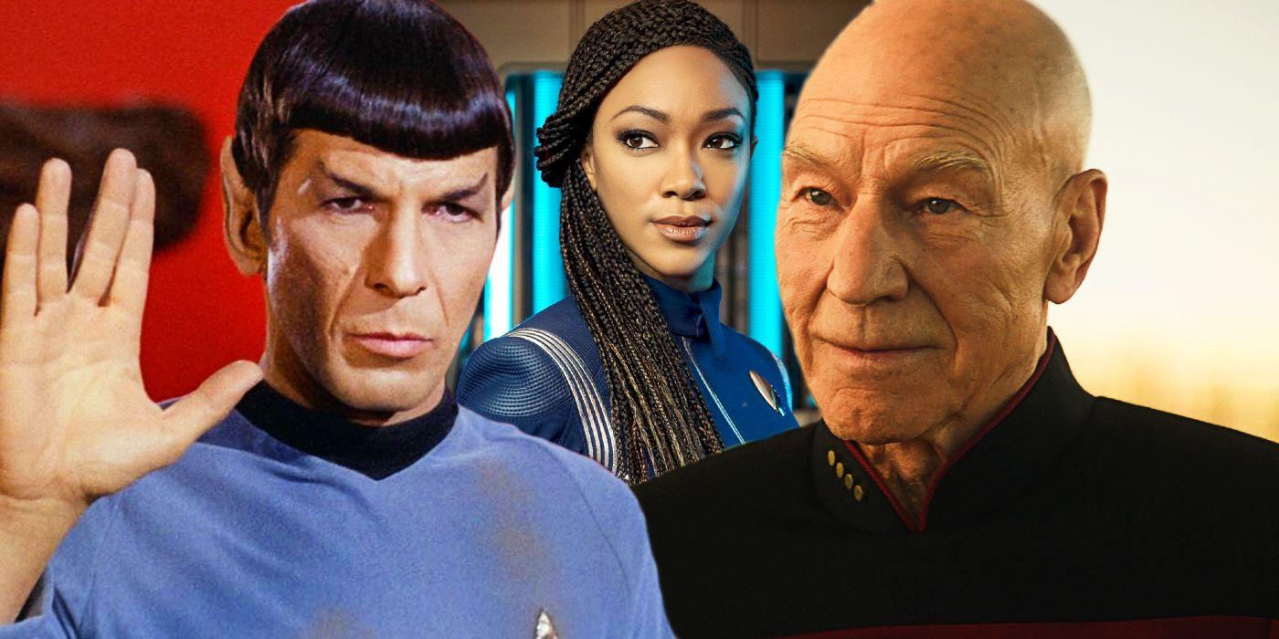 Star Trek Reveals Spock Told Picard About Michael Burnham