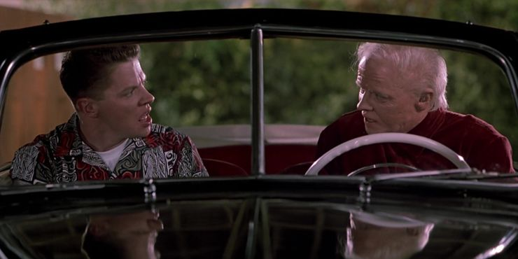 The visual effects in Back to the Future were undoubtedly ahead of their time and haven't aged to date.