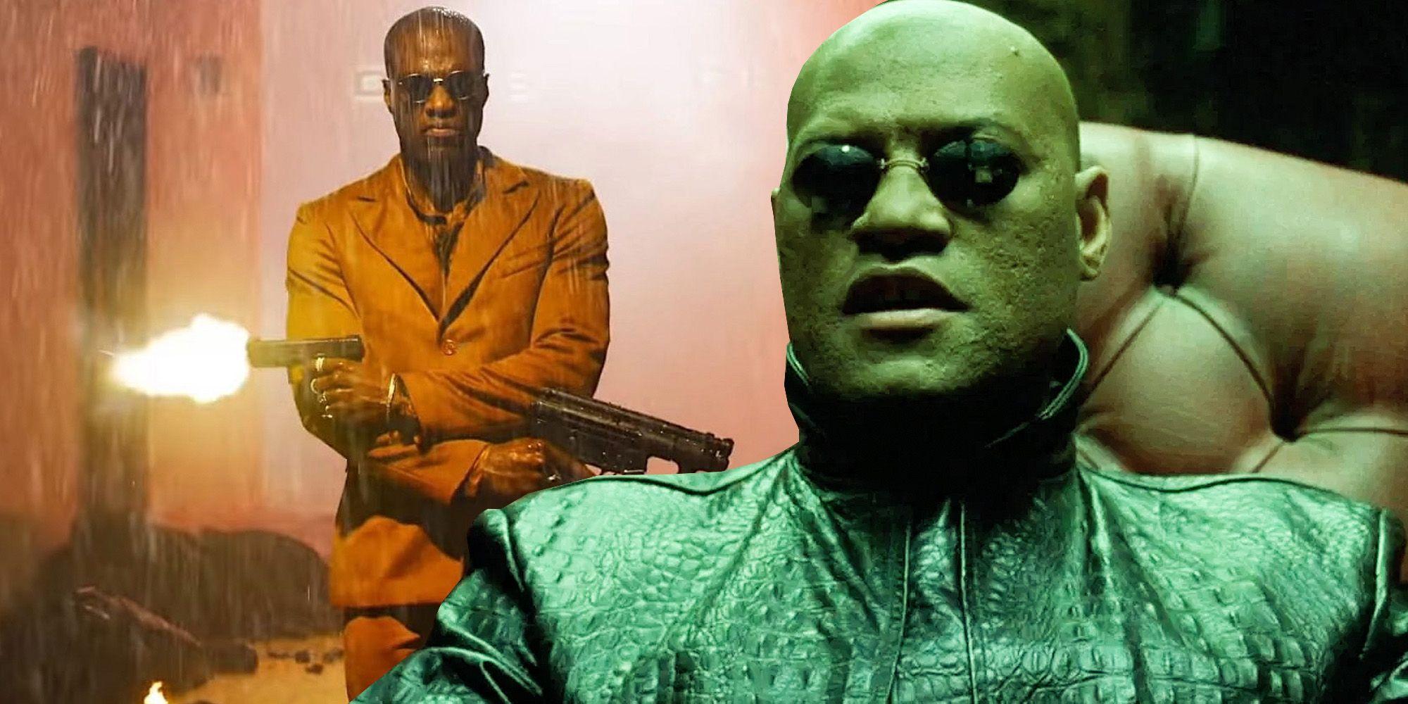 Young Morpheus Confirmed In The Matrix Resurrections