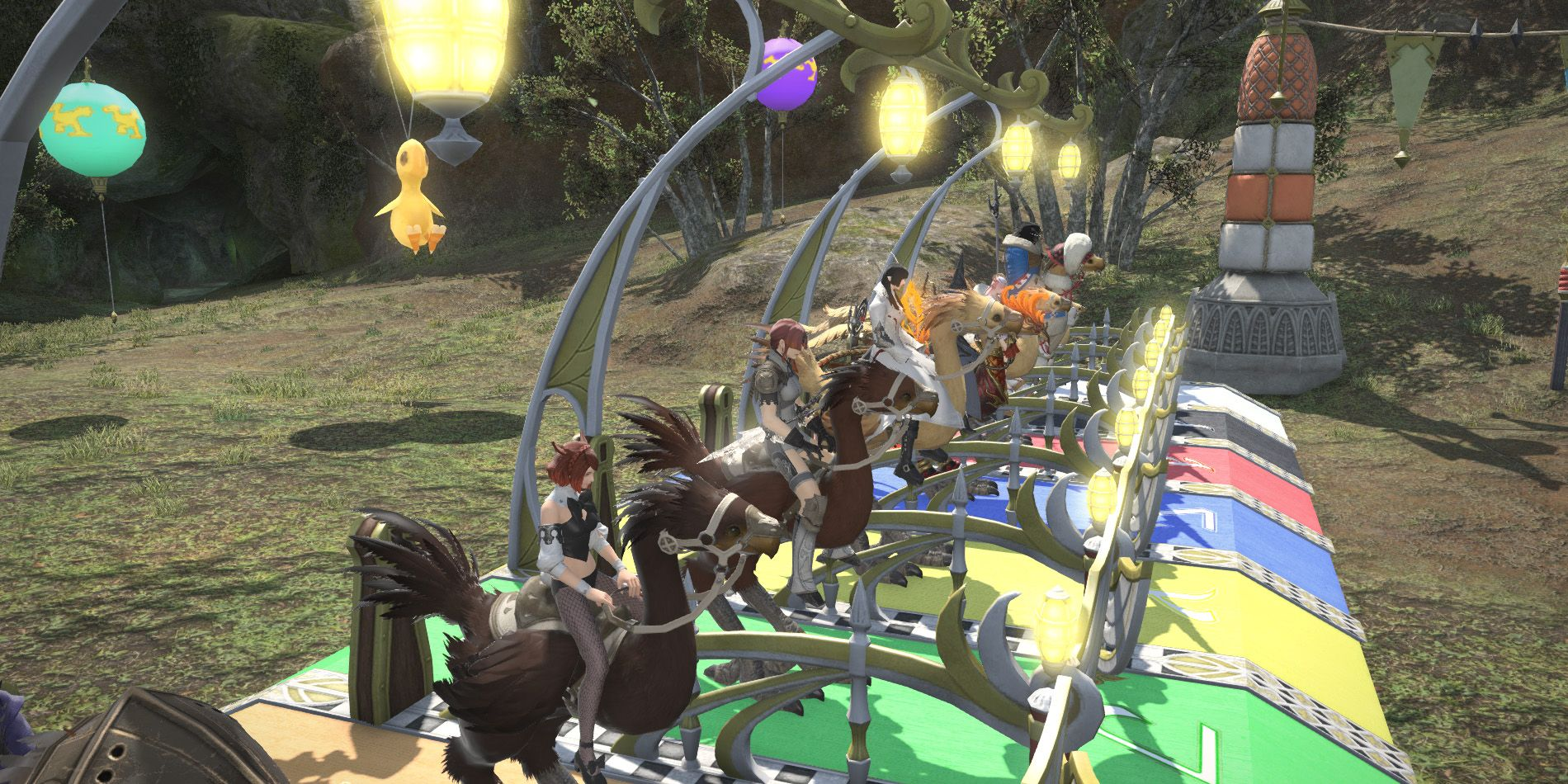How to Race Chocobos in Final Fantasy XIV | Screen Rant
