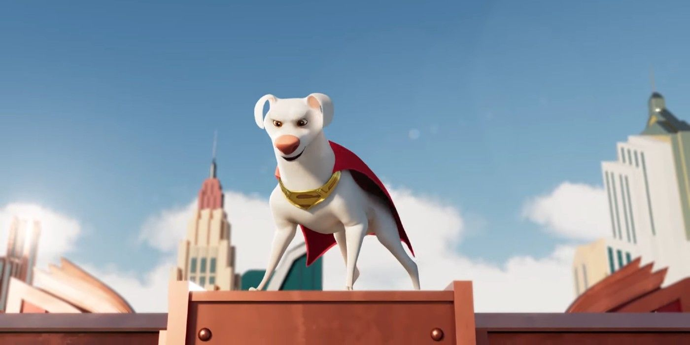 DC's Super-Pets Movie Tie-In Game Announced | Screen Rant