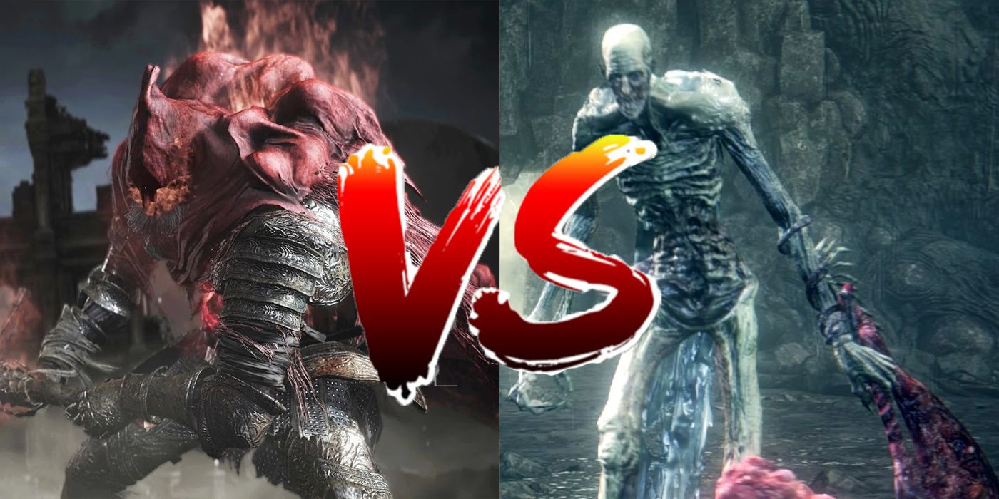 Dark Souls 3 & Bloodborne DLCs  Final Bosses Fight Each Other In New Mod