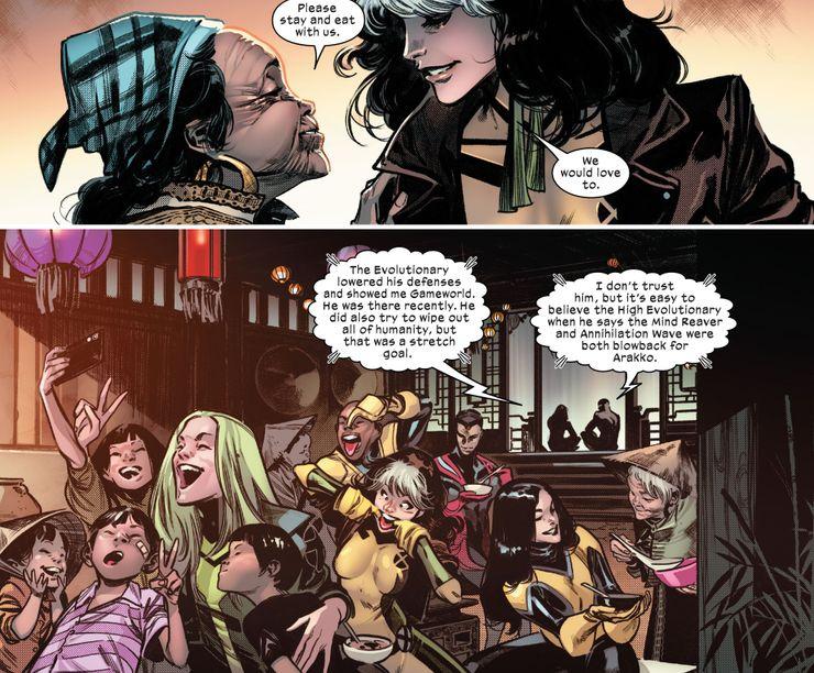 X-Men does something similar to the Avengers
