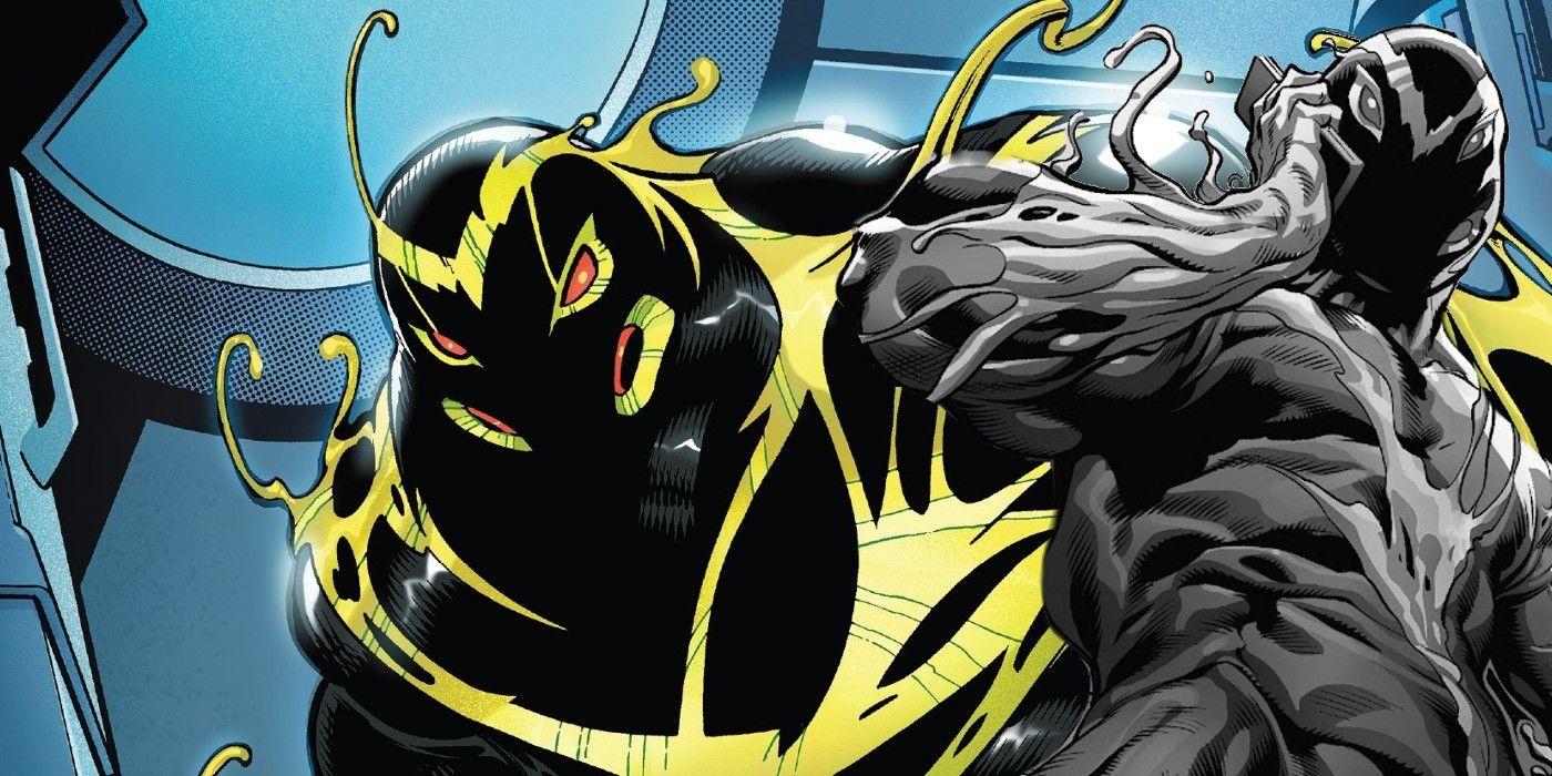 Venom s Symbiote Son Has An Even Creepier New Host