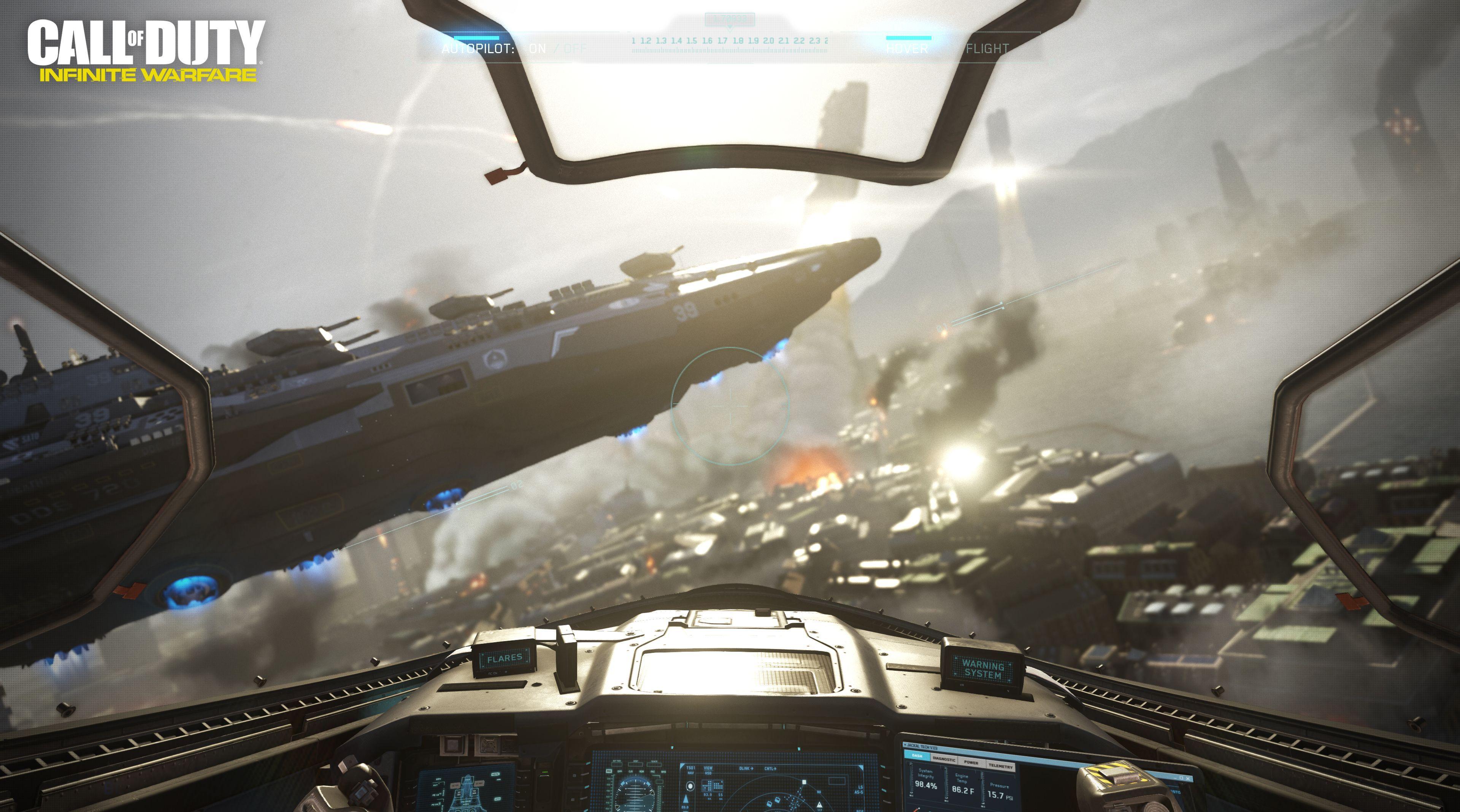 Call of duty infinite warfare ship assault e3 demo screenrant - Infinite warfare ship assault ...