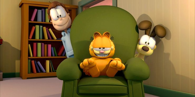 Garfield Animated Movie In Development Screen Rant